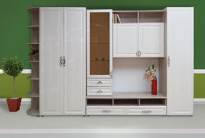 Мебель Кирово-Чепецк - Стенка гостиная Венеция-6